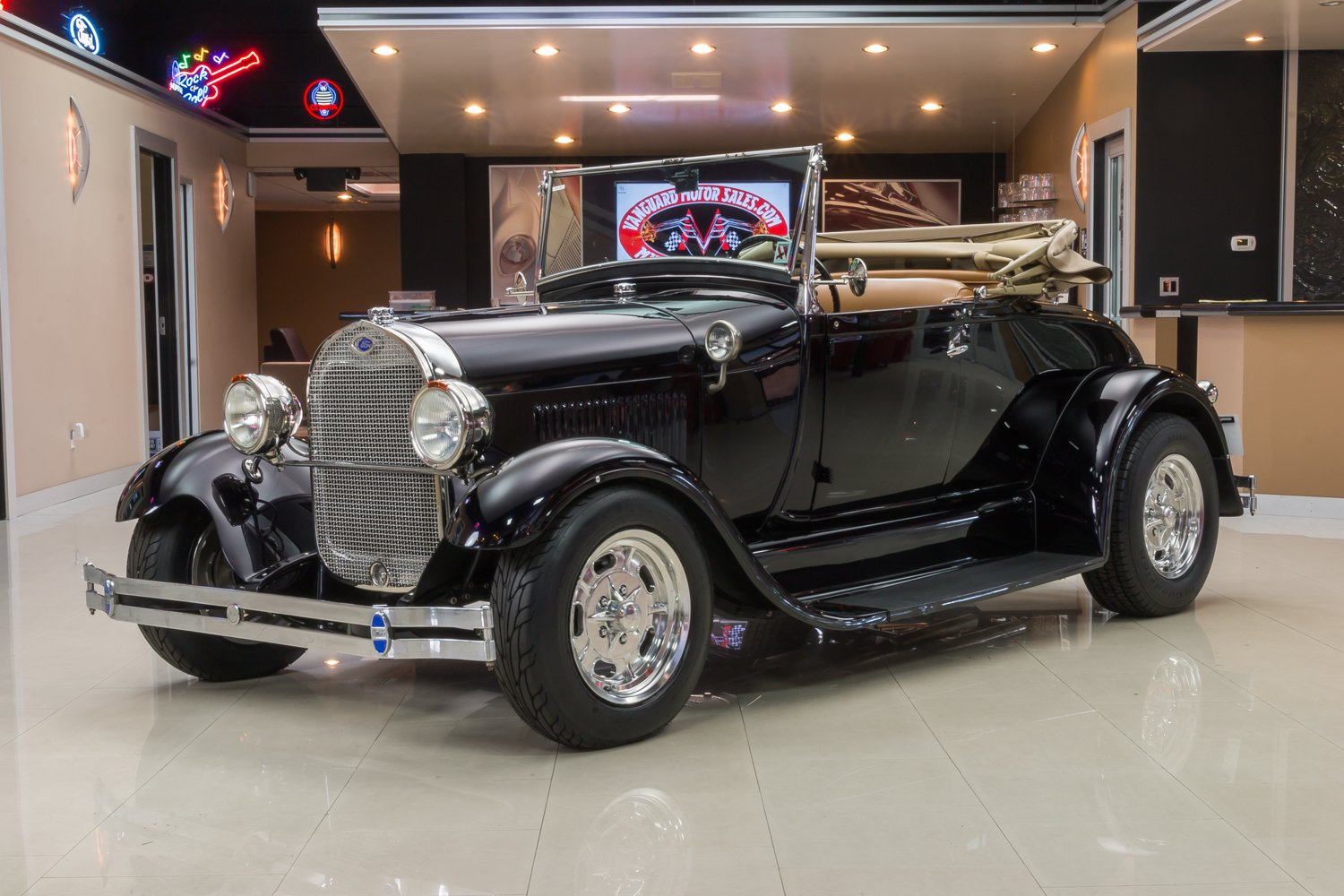 1929 Ford Roadster Classic Cars For Sale Michigan Muscle Old Cars Vanguard Motor Sales