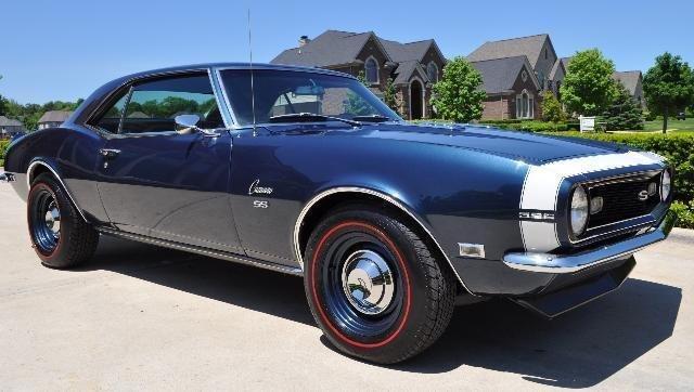 1968 chevrolet camaro 396 4 spd ss