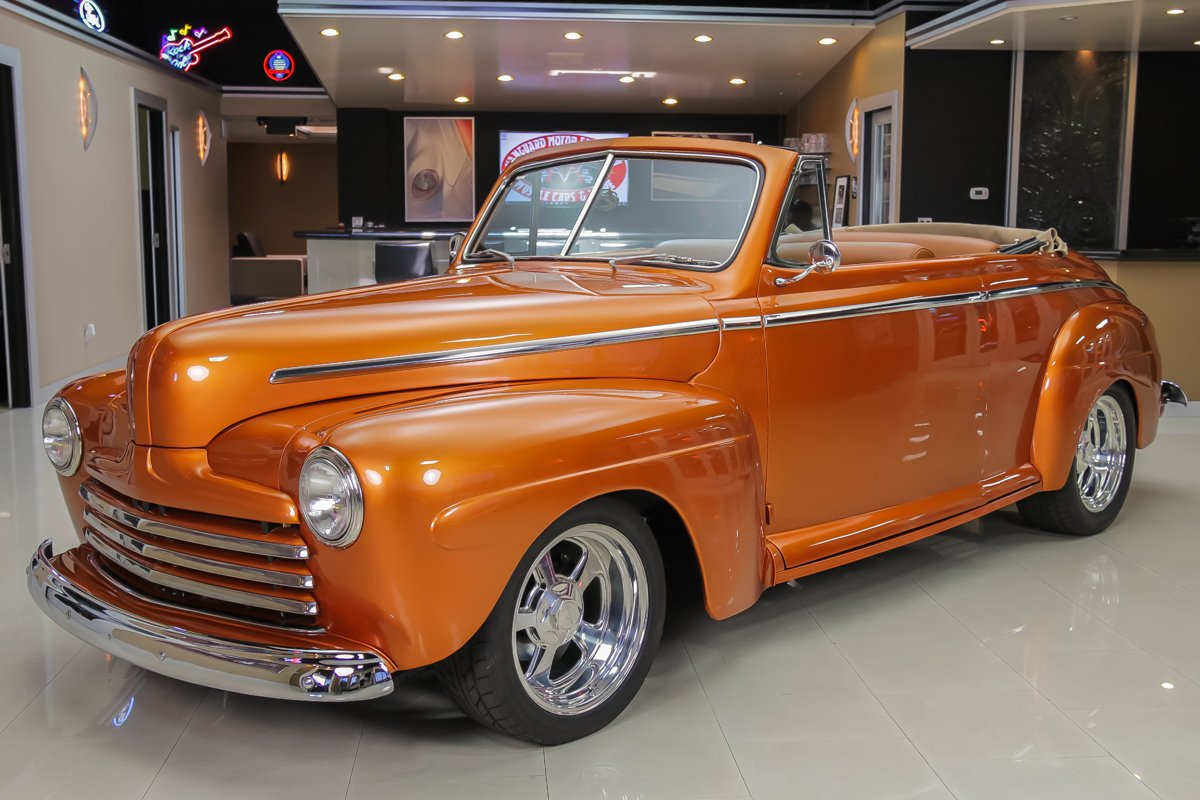 For Sale 1946 Ford Cabriolet