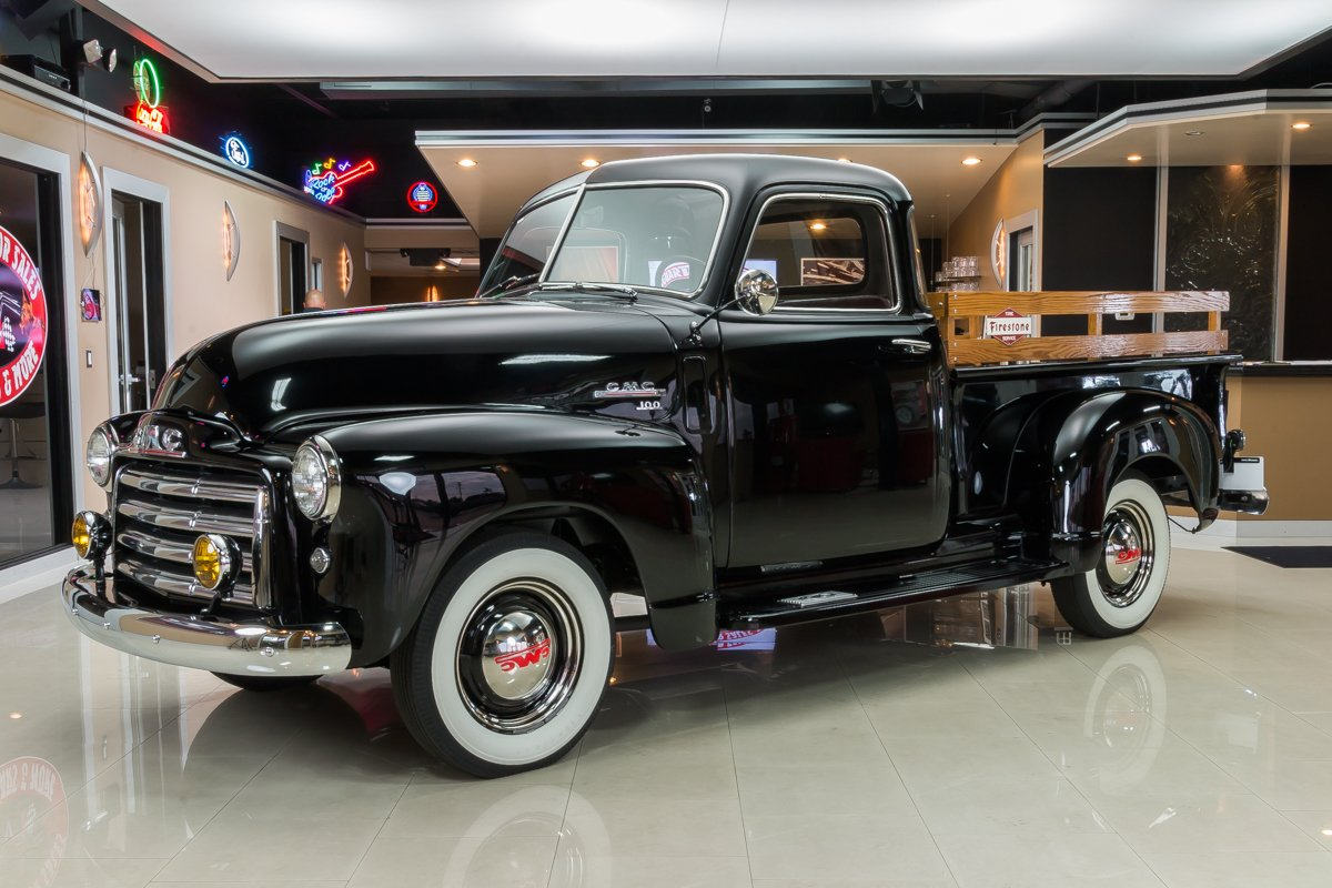 1950 gmc 3100 5 window pickup