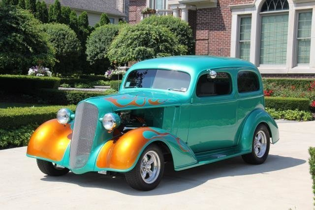 1936 chevrolet street rod watch video