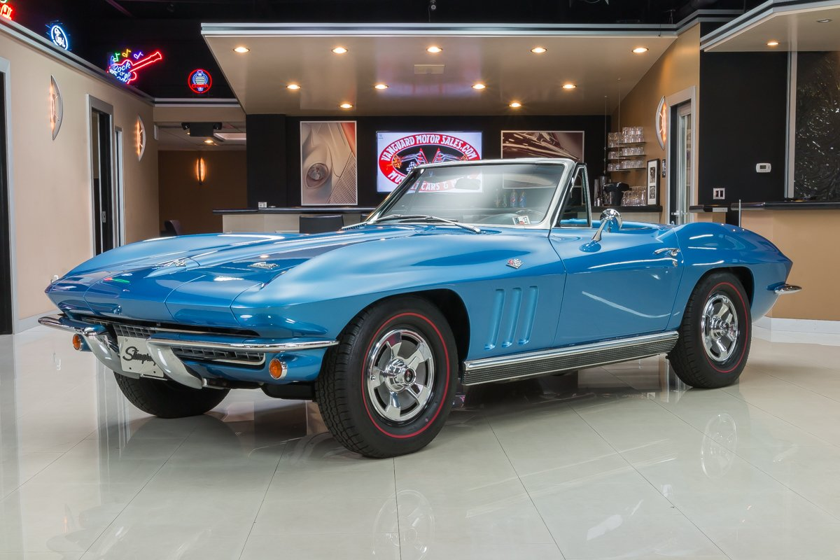 1966 chevrolet corvette convertible 327 350