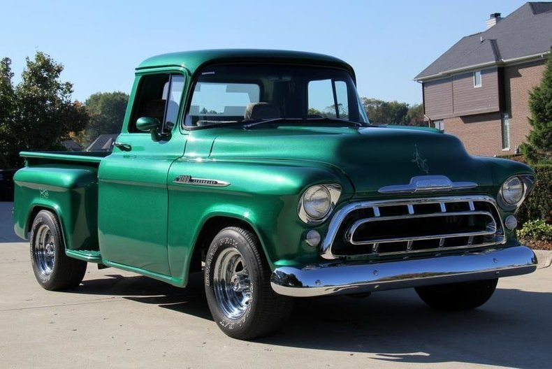 1957 Chevrolet Apache Classic Cars For Sale Michigan Muscle Old