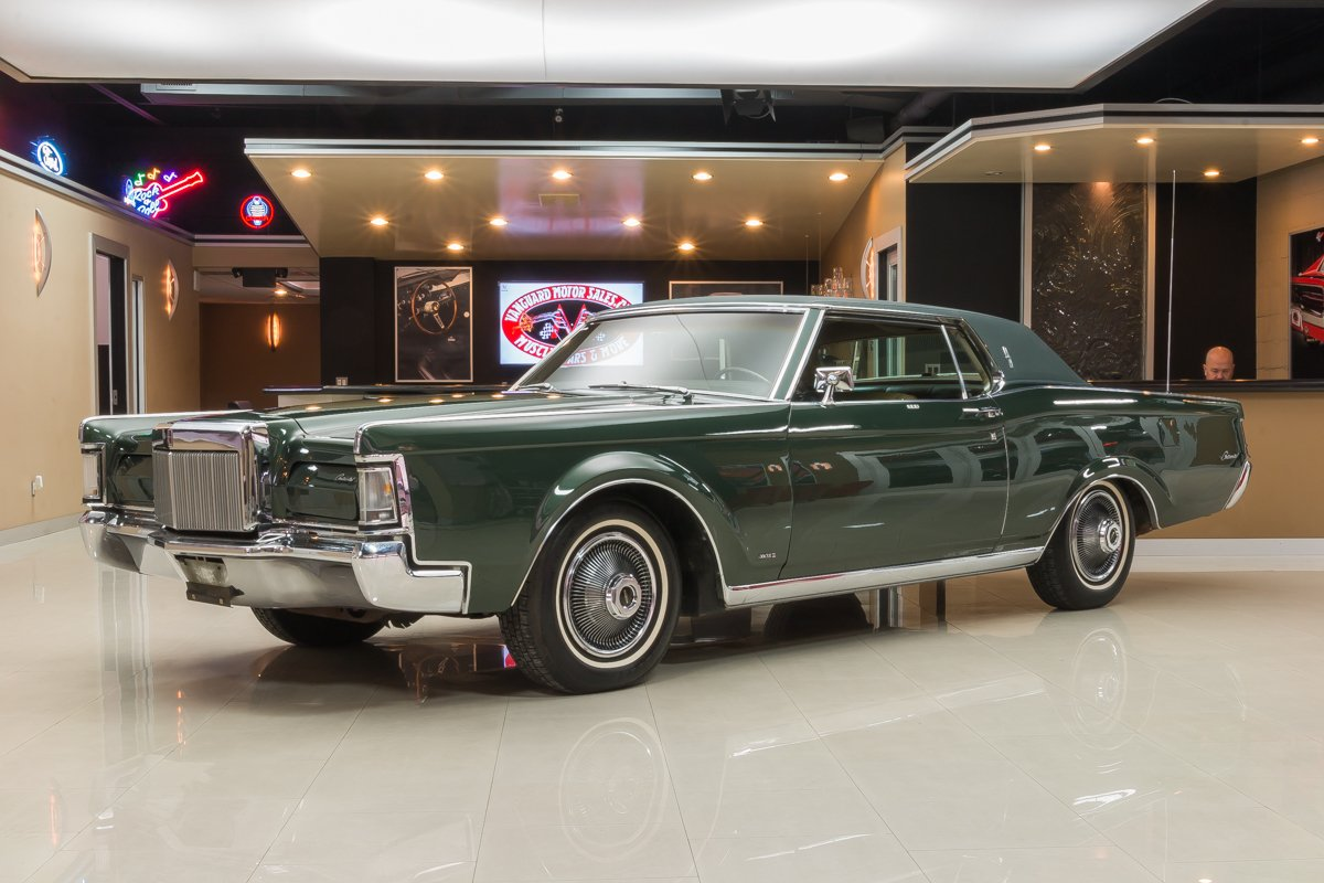 1969 Lincoln Continental Classic Cars For Sale Michigan Muscle