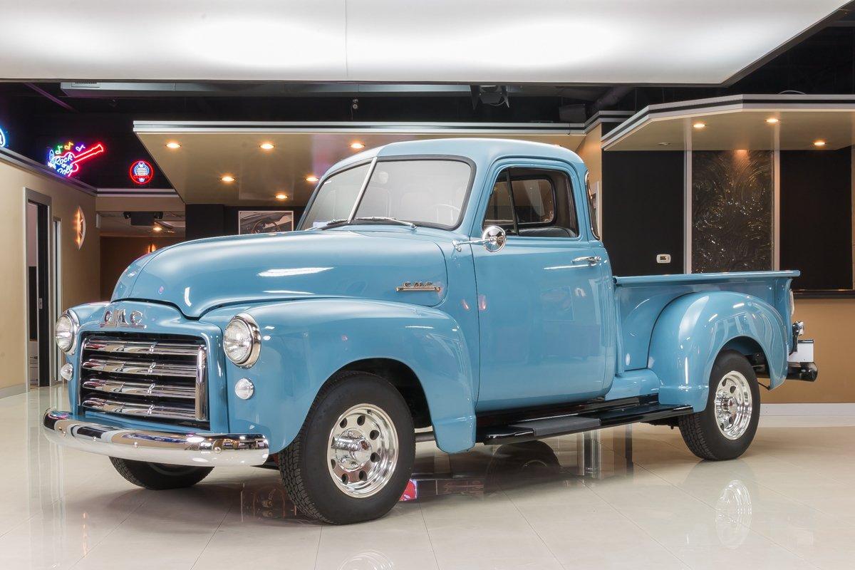1952 gmc 5 window pickup
