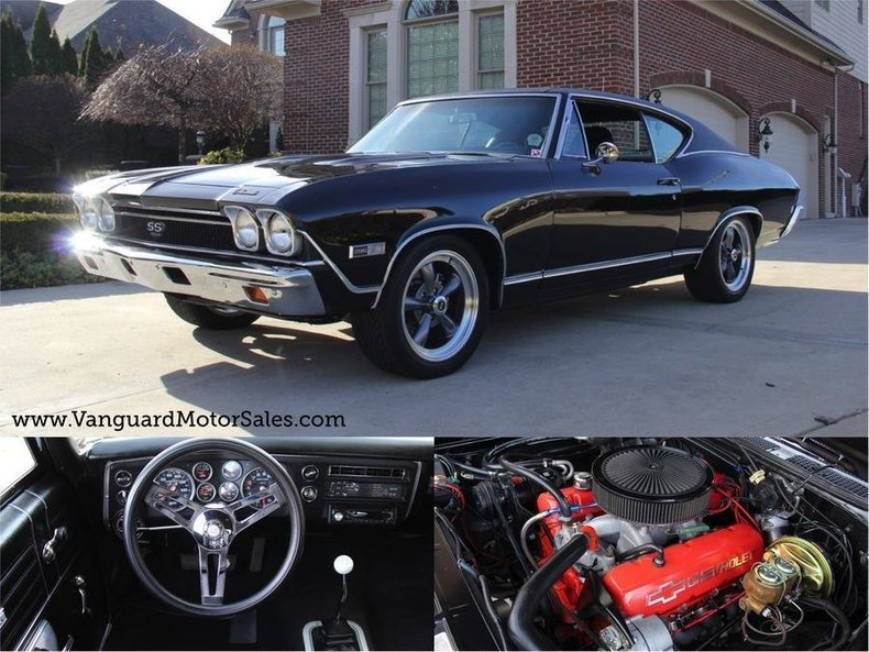 1968 Chevrolet Chevelle   Classic Cars for Sale Michigan