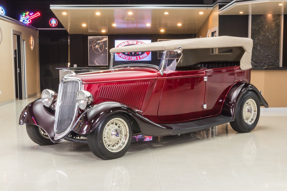For Sale 1934 Ford Phaeton