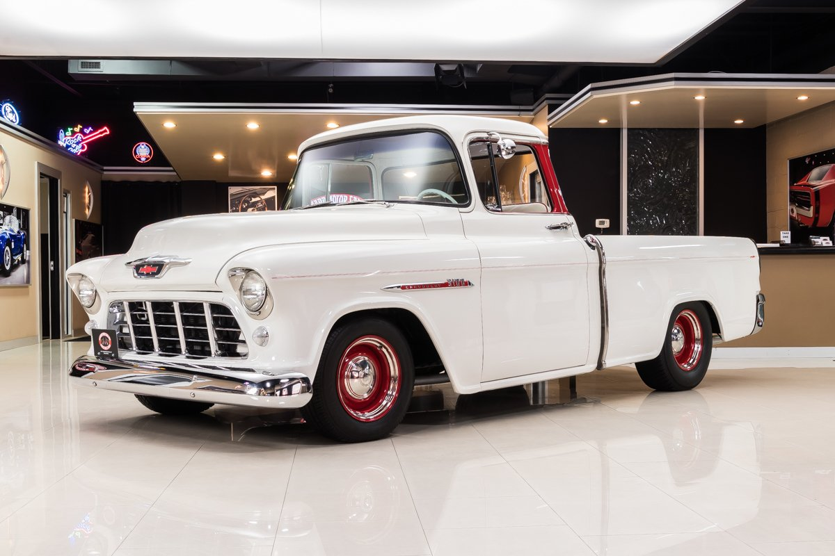 1955 chevrolet cameo pickup restomod