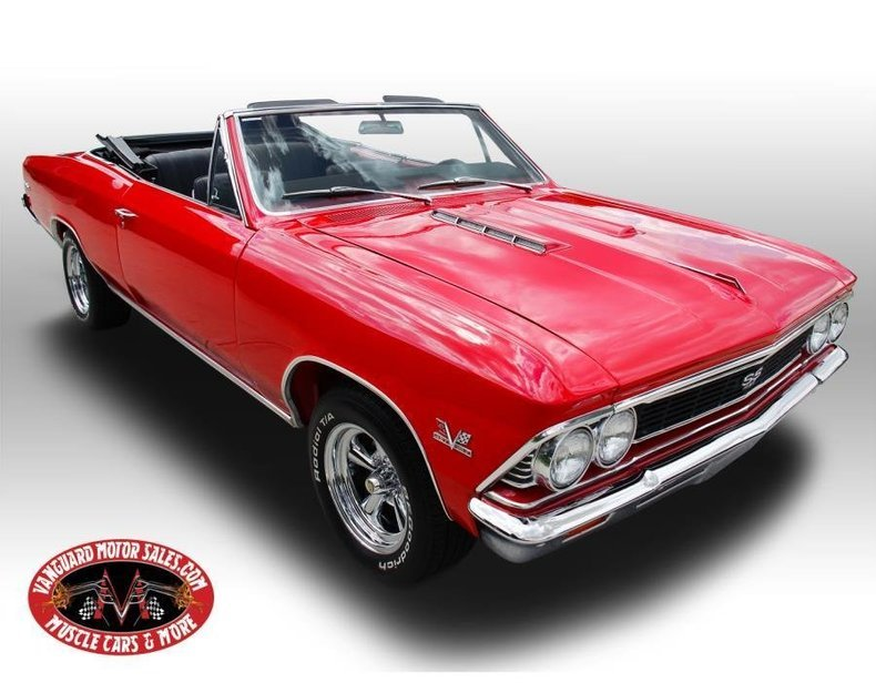1966 chevrolet chevelle 138 ss convertible