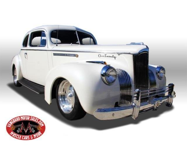 1941 packard 120 business coupe street rod