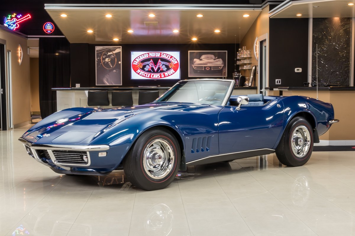 1968 chevrolet corvette convertible 427 435