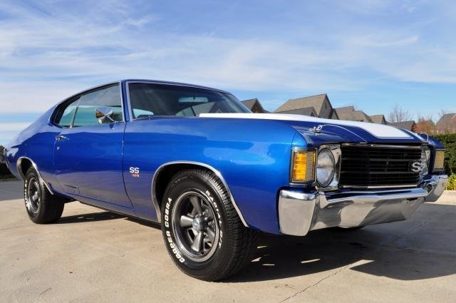 1972 chevrolet chevelle big block