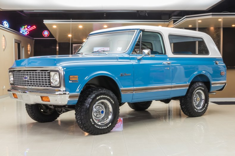 1971 Chevrolet Blazer   Classic Cars for Sale Michigan ...