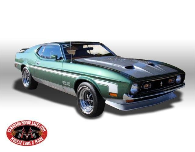 For Sale 1971 Ford Mustang Boss 351