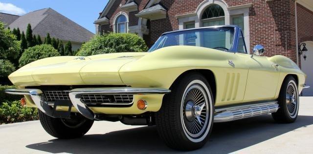1966 chevrolet corvette 327 350 hp