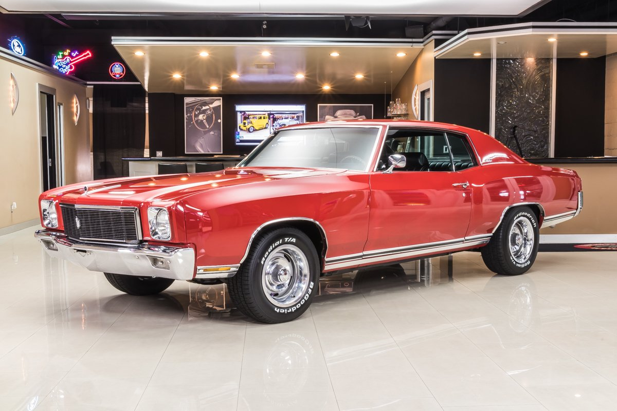 1971 Chevrolet Monte Carlo Classic Cars For Sale Michigan Muscle Old Cars Vanguard Motor Sales