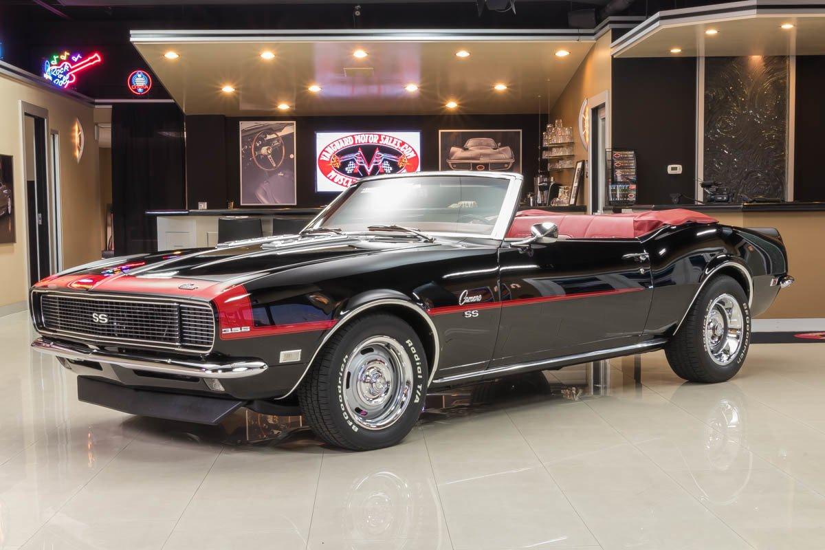 1968 chevrolet camaro rs ss convertible