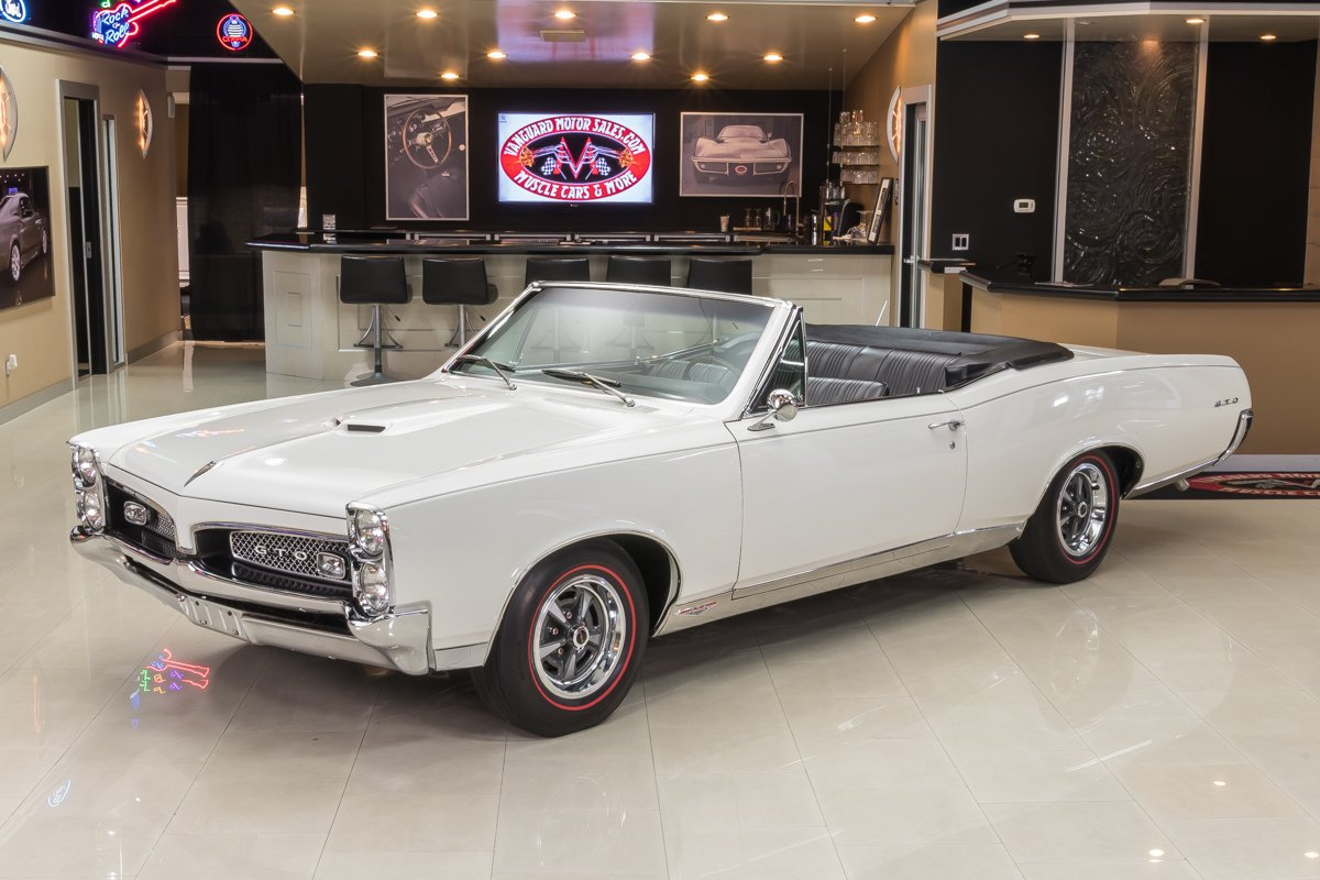 1967 Pontiac Gto Classic Cars For Sale Michigan Muscle Old 1960 Convertible Hide Photos