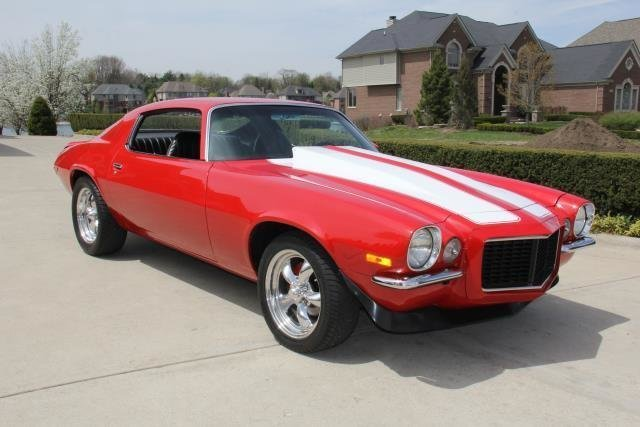 1972 chevrolet camaro watch video