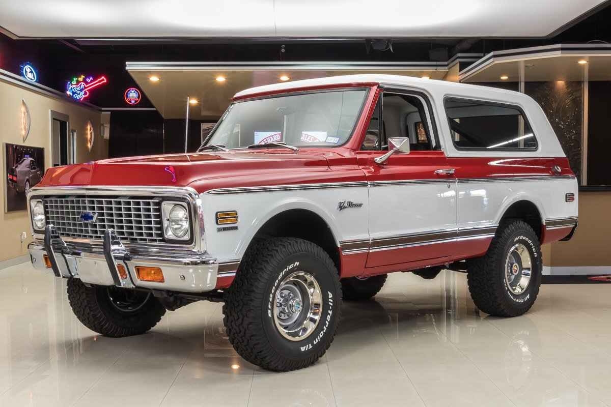 For Sale 1972 Chevrolet Blazer