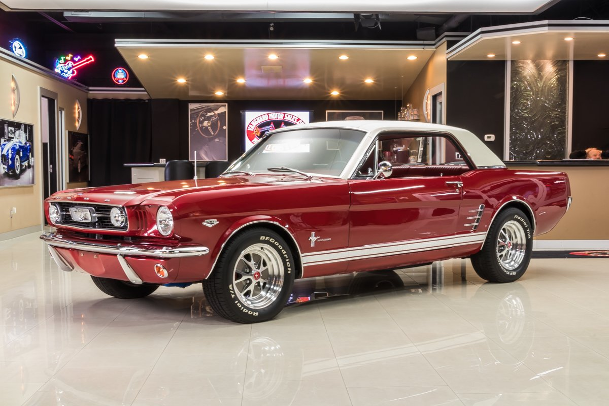 1966 ford mustang classic cars for sale michigan muscle. Black Bedroom Furniture Sets. Home Design Ideas