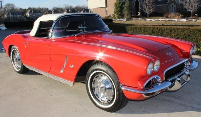 1962 chevrolet corvette watch video