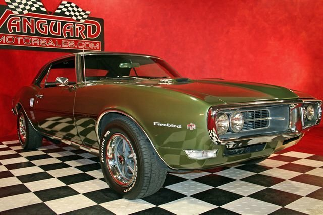 For Sale 1968 Pontiac Firebird