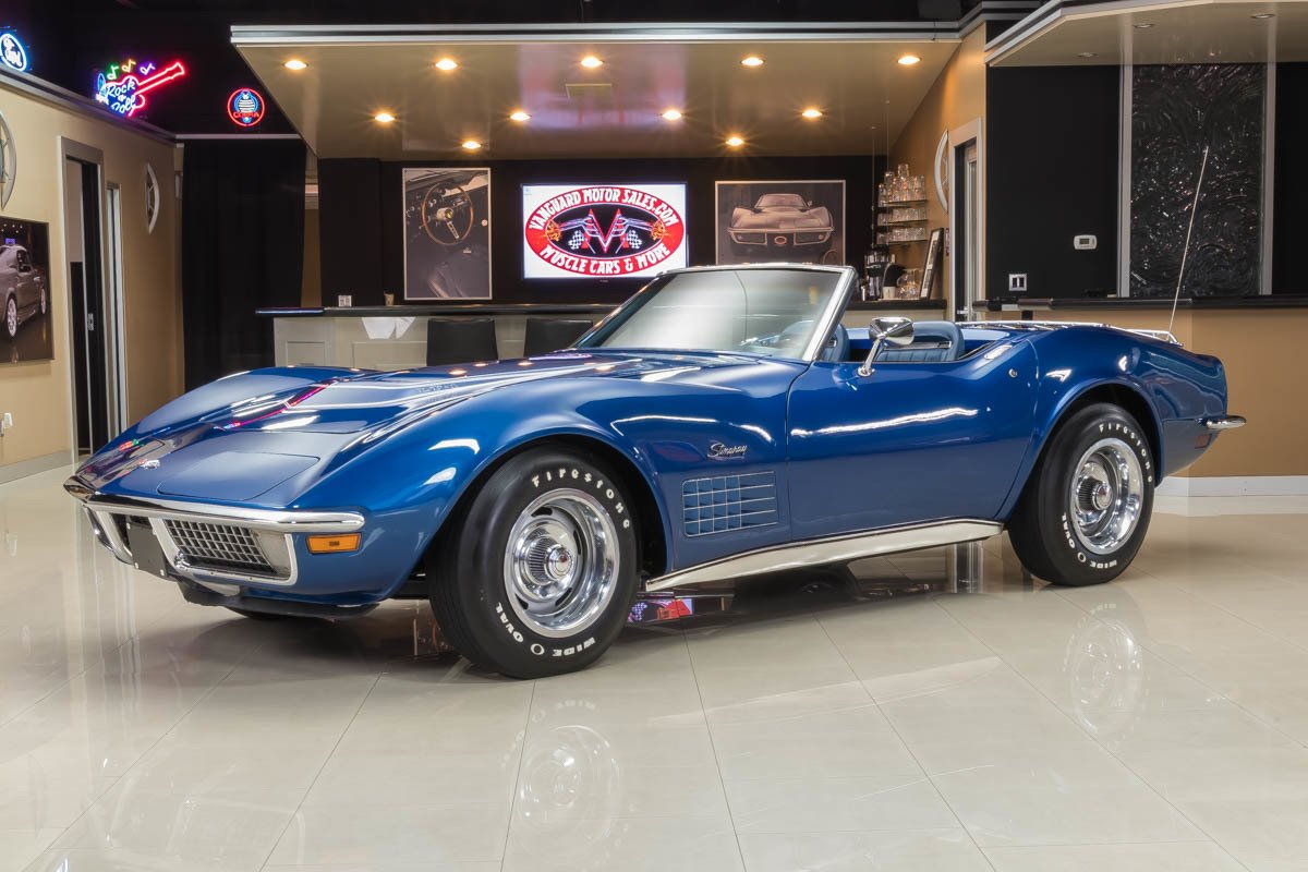 1971 chevrolet corvette lt 1 convertible