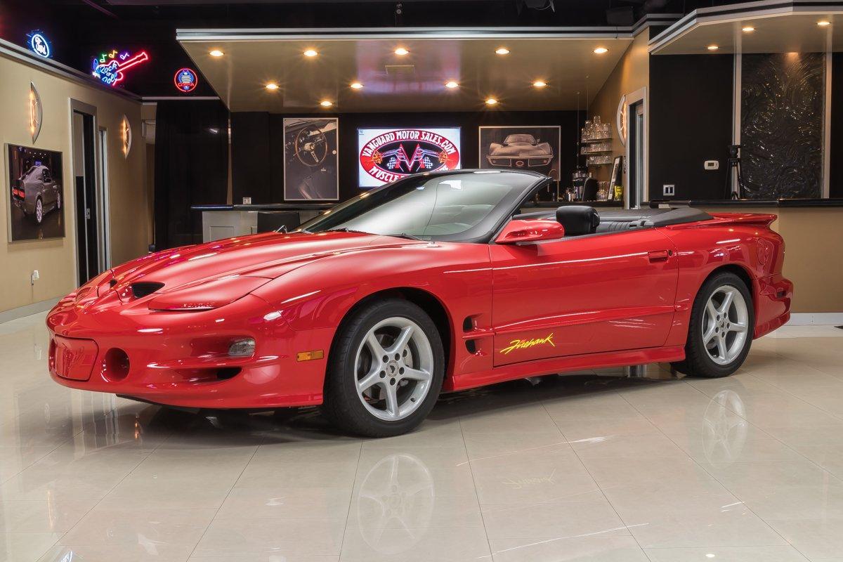 2002 pontiac firebird trans am firehawk convertible