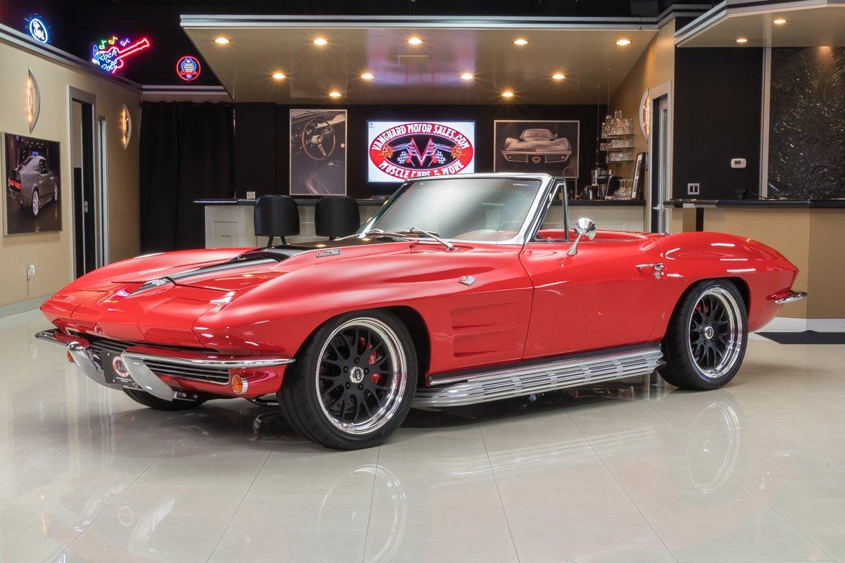 1964 chevrolet corvette convertible pro touring