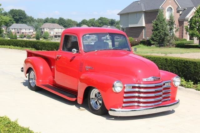 1950 chevrolet pick up watch video