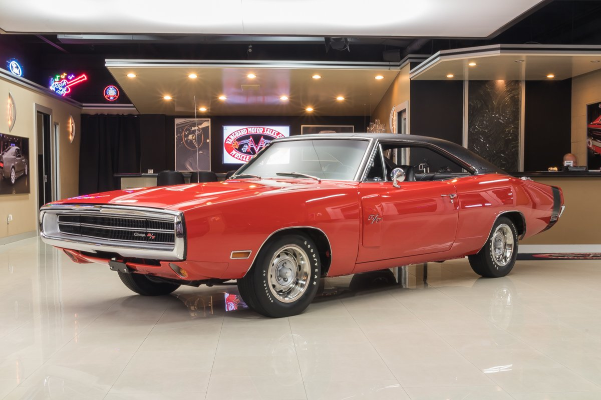 1970 dodge charger r t v code 440 six pack