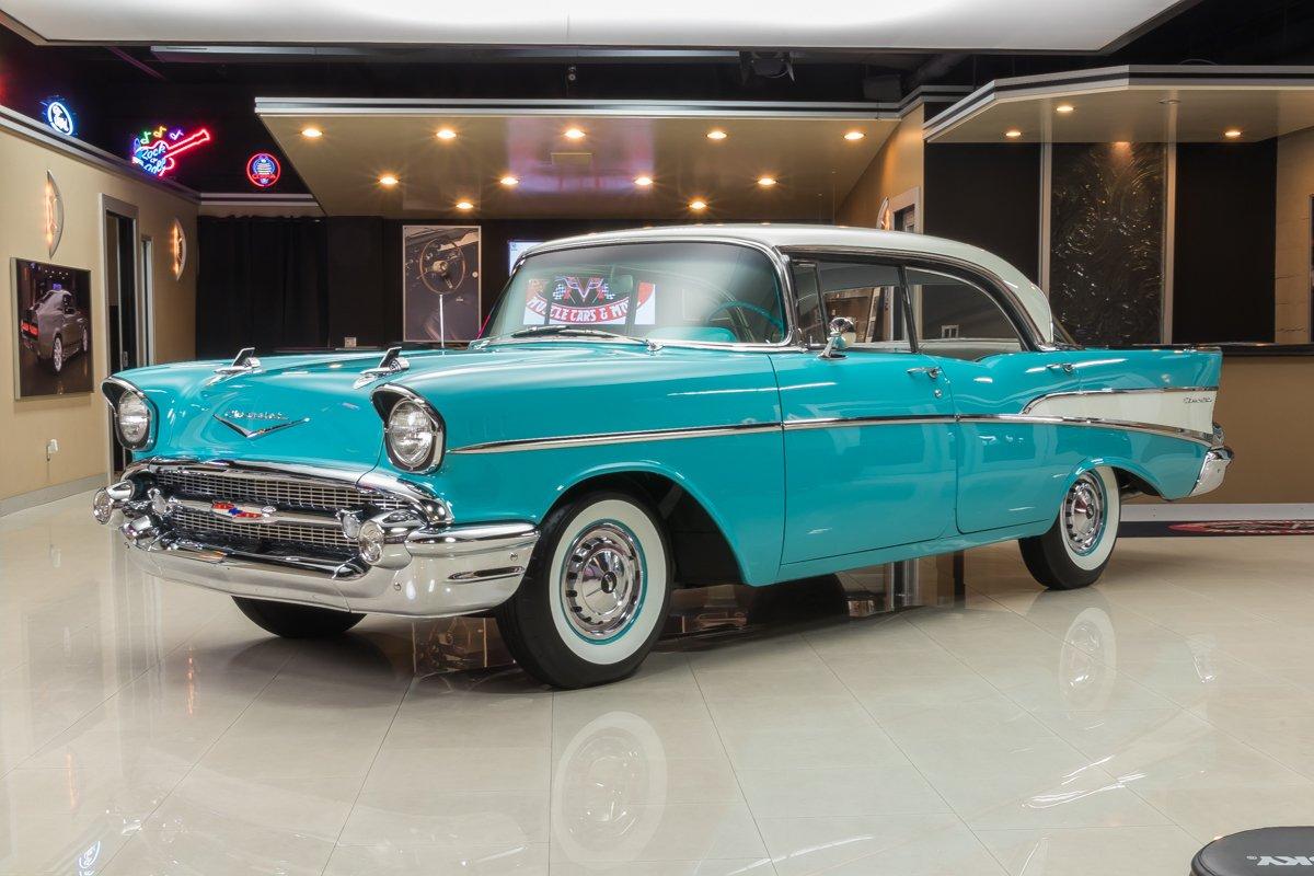 1957 chevrolet 210 4 door hardtop