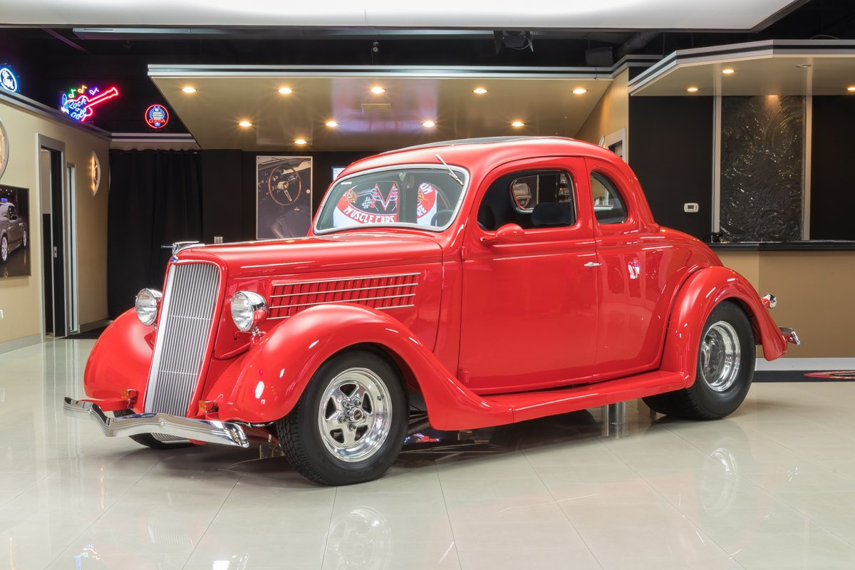 1935 ford 5 window coupe street rod