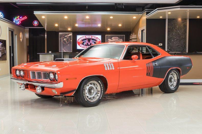 1971 Plymouth Cuda 440 Six Pack Recreation