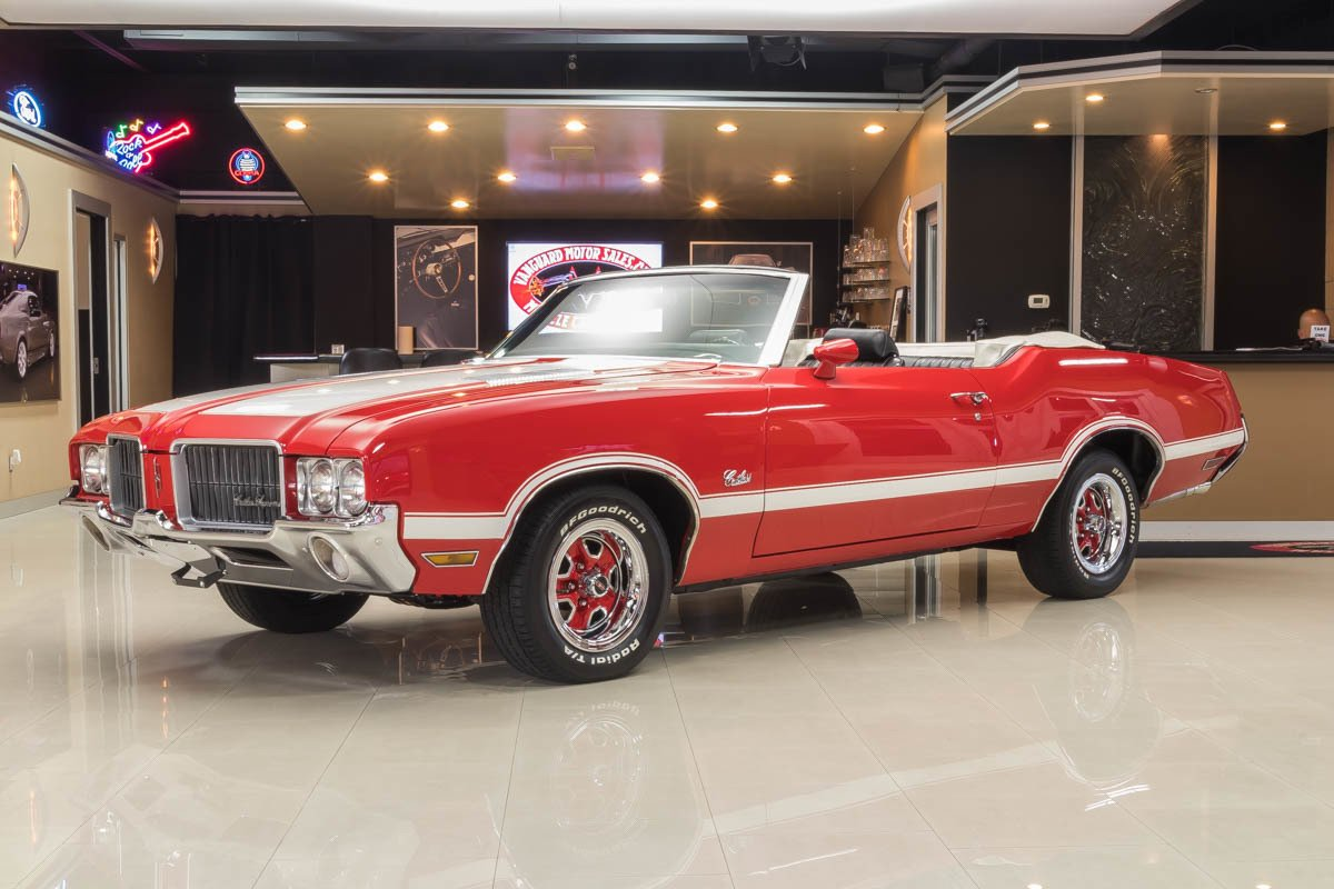 1971 Oldsmobile Cutlass | Classic Cars for Sale Michigan