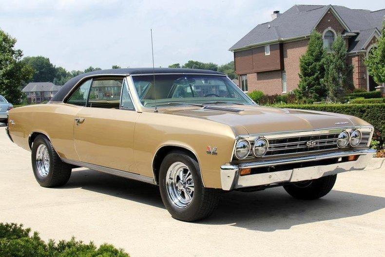 1967 chevrolet chevelle 138 ss