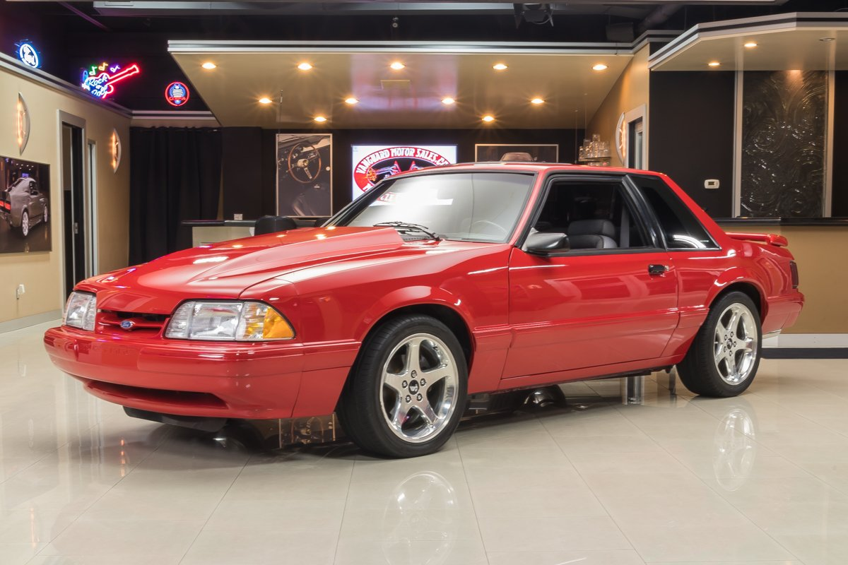 1993 ford mustang lx notchback