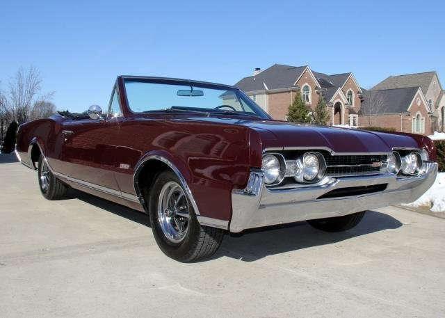 1967 oldsmobile 442 watch video