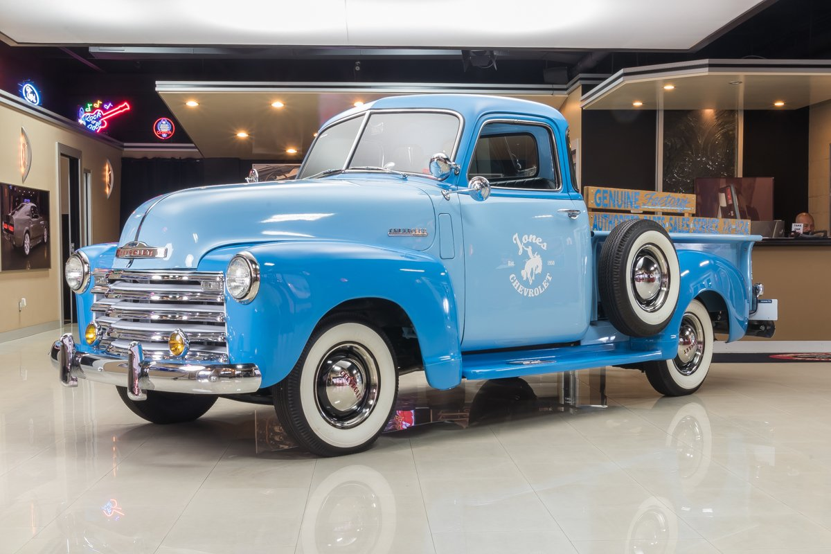 1950 chevrolet 3100 5 window pickup
