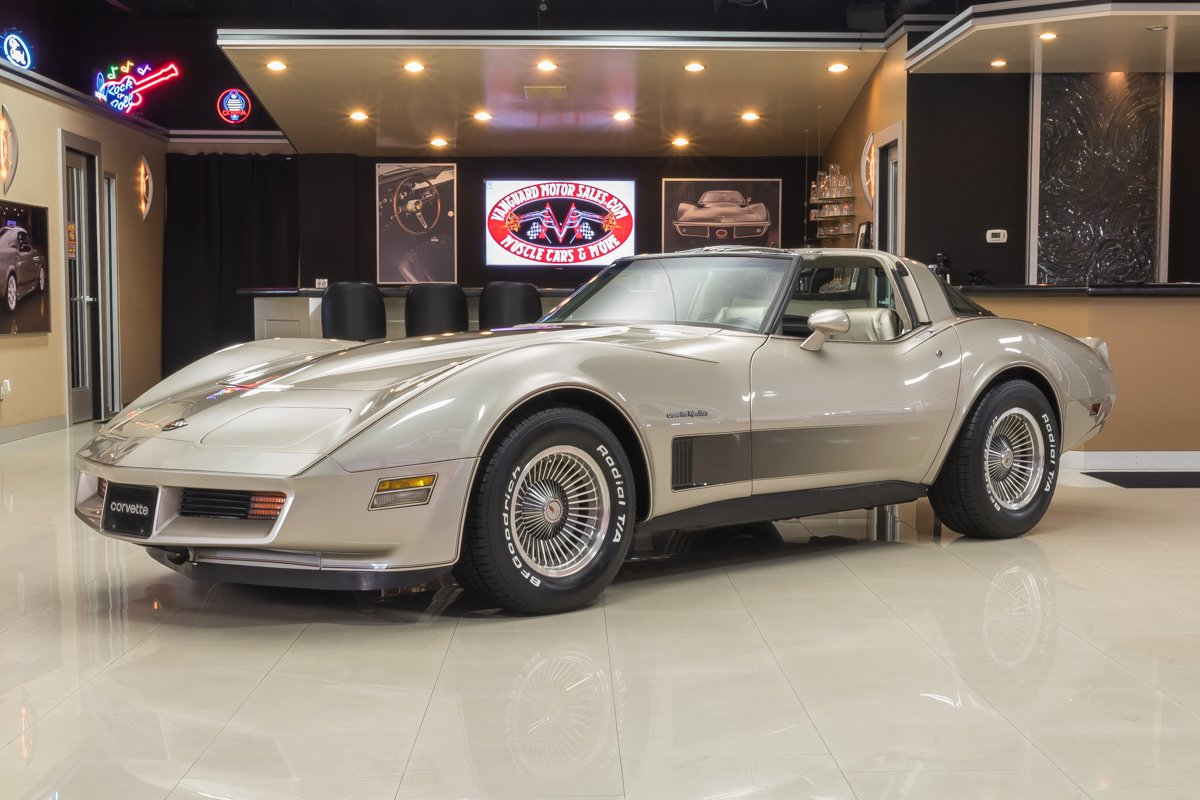 1982 chevrolet corvette anniversary edition