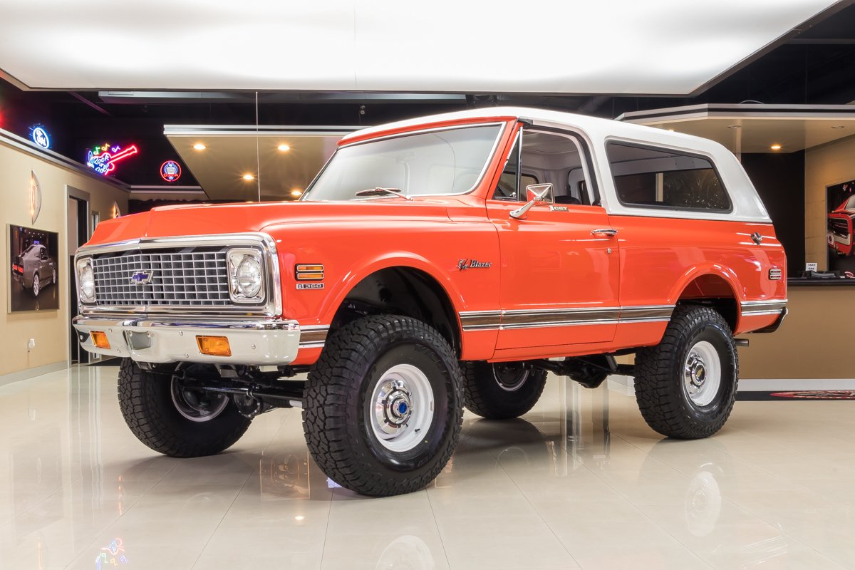 1972 Chevrolet Blazer Classic Cars For Sale Michigan Muscle Old Cars Vanguard Motor Sales