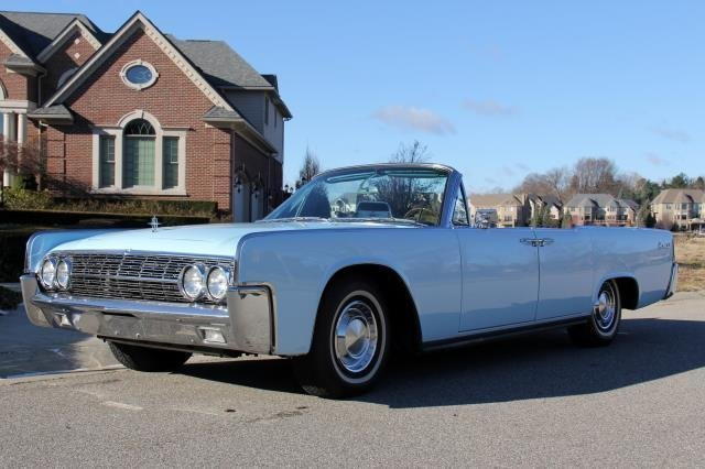 1962 lincoln continental watch video
