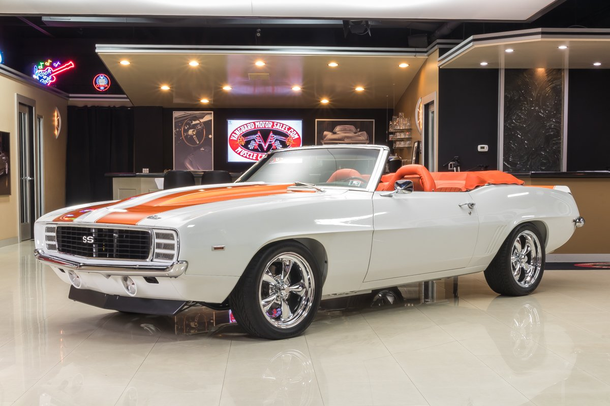1969 chevrolet camaro rs ss indy pace car convertible restomod