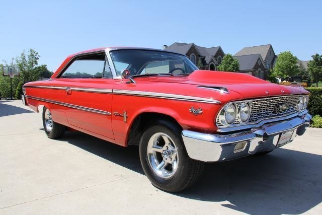 1963 ford galaxie 390 4speed