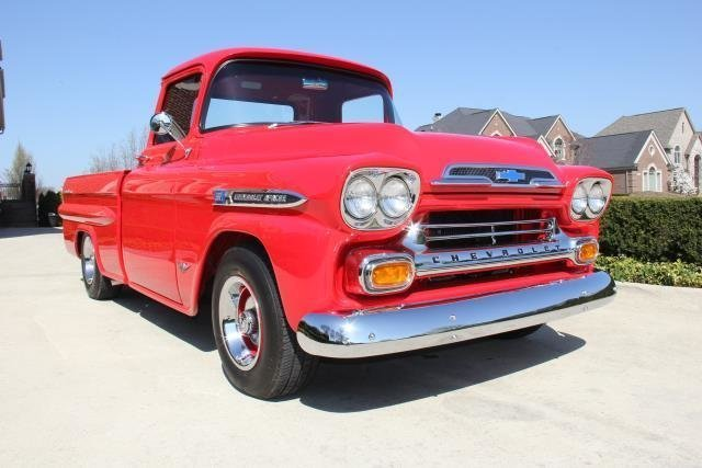1959 chevrolet apache watch video