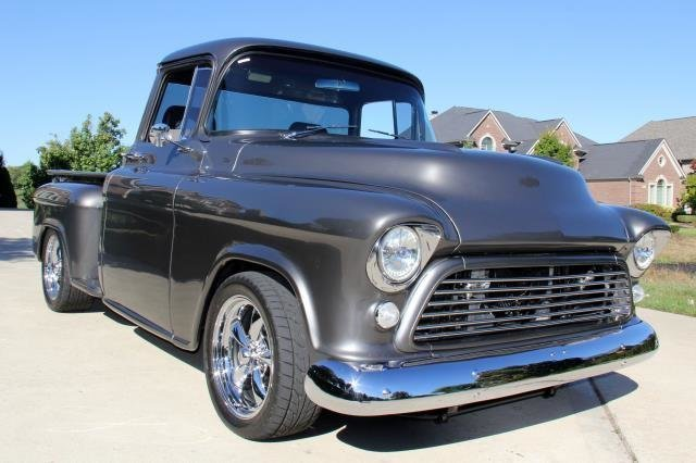 1957 chevrolet truck watch video