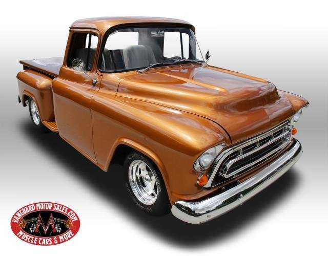 1957 chevrolet pickup restomod