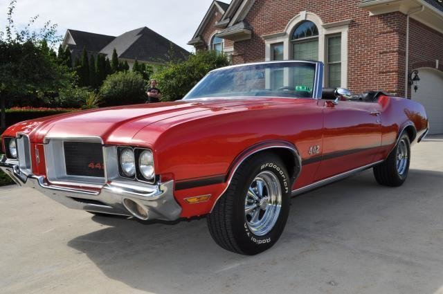 1972 oldsmobile cutlass 442 clone