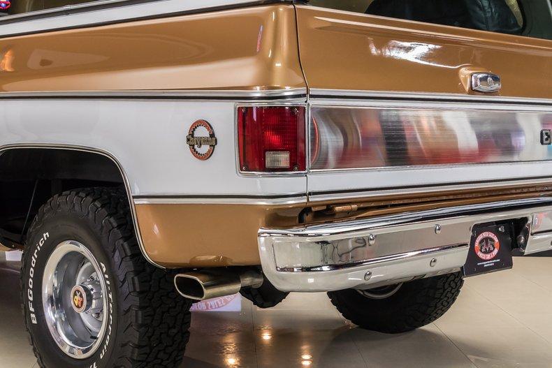1979 Chevrolet Blazer 33